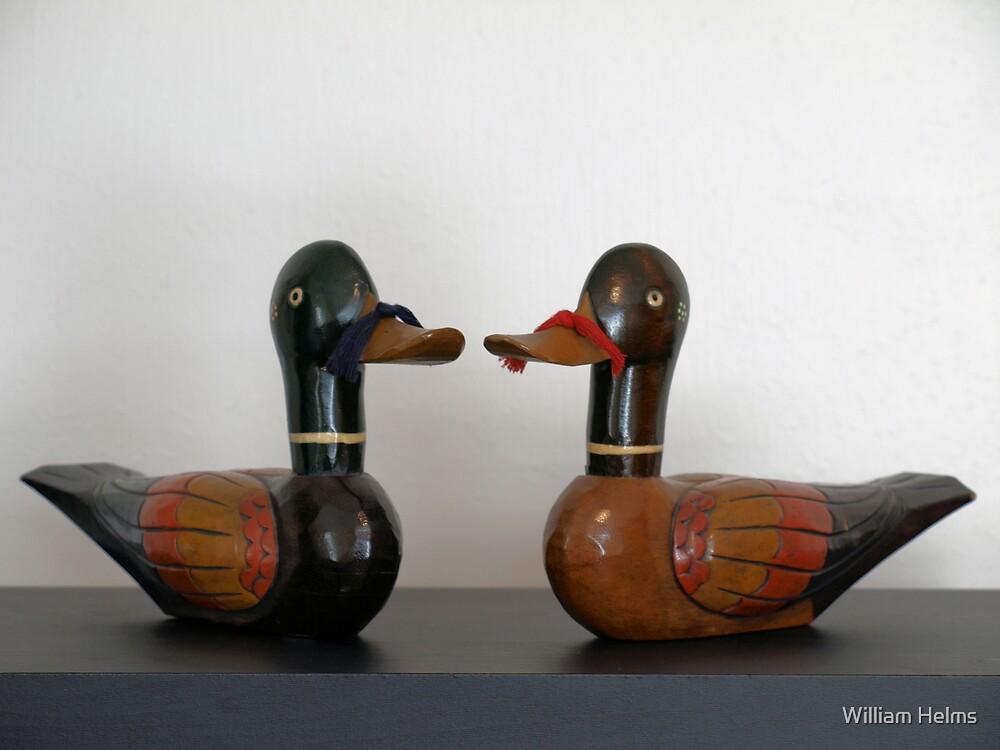 Korean Wedding Ducks by William Helms