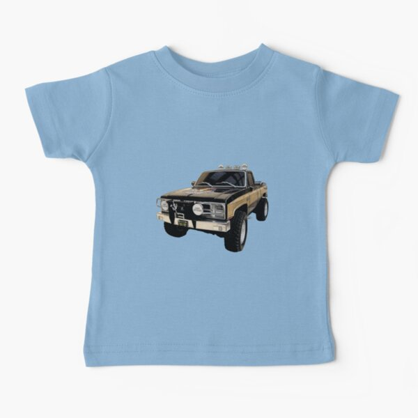 Chevy Boys Also A Truck Childrens T-Shirt White
