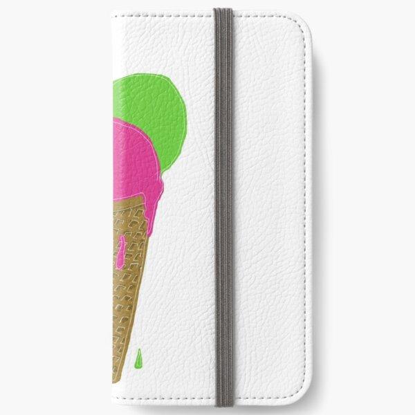 Ice ice iPhone Flip-Case