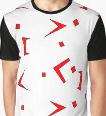 Jem - Aja Red Pattern Graphic T-Shirt