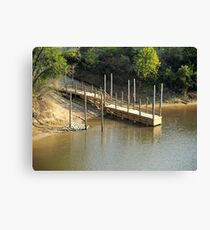 The River Ramp Canvas Print