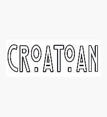 CROATOAN Photographic Print
