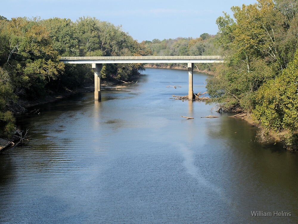 Cape Fear River by William Helms