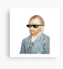 Thug Vincent Van Gogh Canvas Print