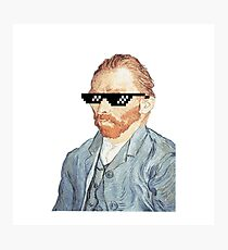 Thug Vincent Van Gogh Photographic Print
