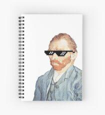 Thug Vincent Van Gogh Spiral Notebook