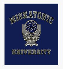 Miskatonic University Photographic Print