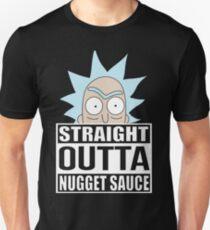 Straight Outta Nugget Sauce - Rick and Morty - Szechuan sauce - Mulan Schezuan sauce Unisex T-Shirt