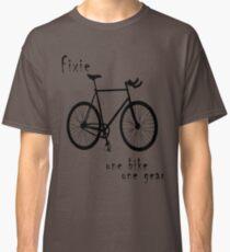 Fixie - one bike one gear Classic T-Shirt