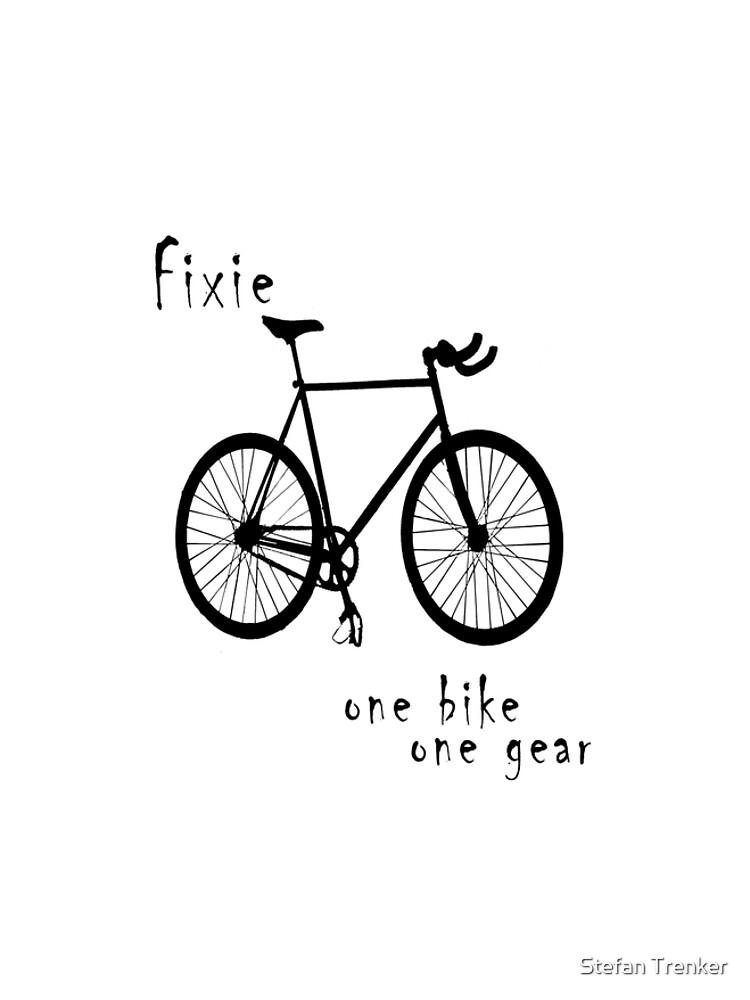 Fixie - one bike one gear by stetre76