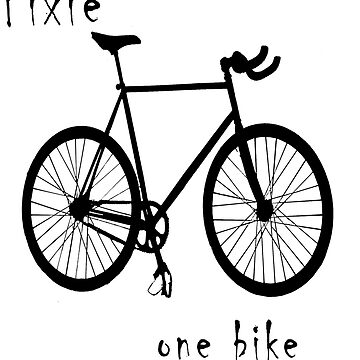 Fixie - one bike one gear by stetre76