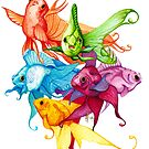 Fancy Fishes by imagesower