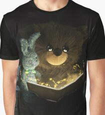 Teddy Bear Reading a Fairy-Tale to Bunny Graphic T-Shirt