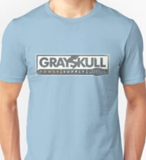 GREYSKULL Power Supply - A Subsidiary of Eternia Energy Slim Fit T-Shirt