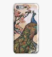 Springtime Peacock iPhone Case/Skin