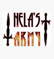 Hela's army Photographic Print