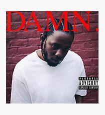 Damn - Kendrick Lamar [HIGH QUALITY] Photographic Print