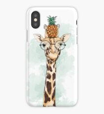 Pineapple Giraffe iPhone Case/Skin