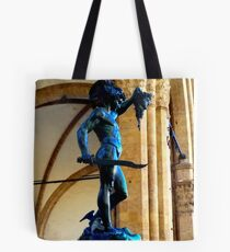 Perseo with Medusa head Tote Bag