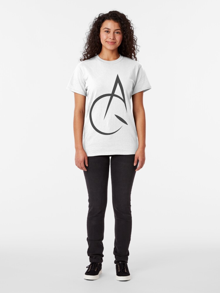 Alternate view of Acquaint Clothing Icon Dark Classic T-Shirt