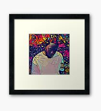 Abstract Damn Framed Print