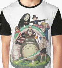 Ghibli collection Graphic T-Shirt