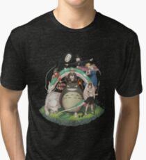 Ghibli collection Tri-blend T-Shirt