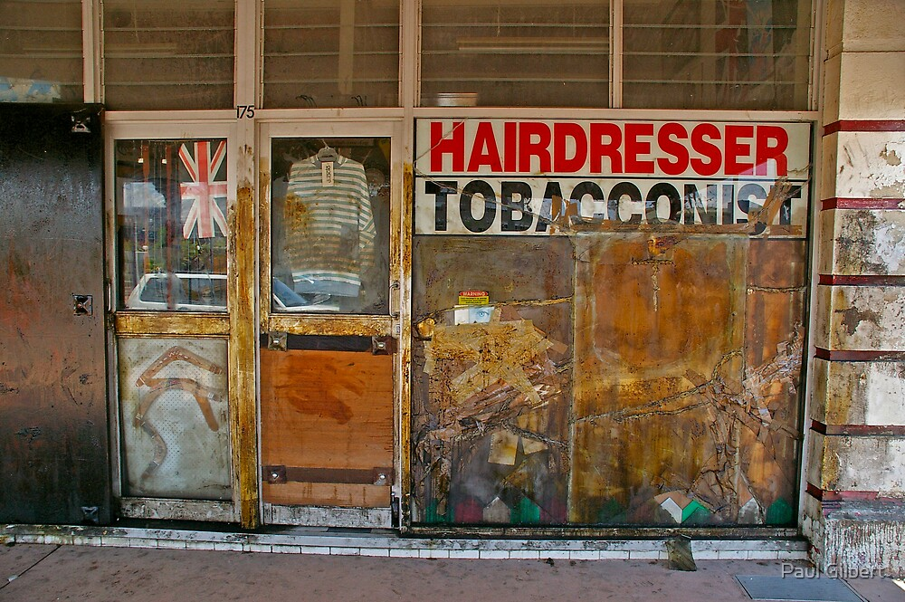 Haircut by Paul Gilbert
