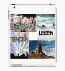 People live dancing world iPad Case/Skin