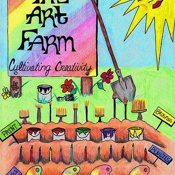 The Art Farm Logo by dizzimamma