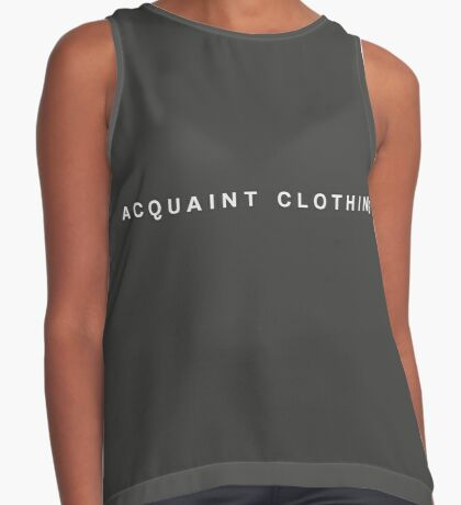 Acquaint Clothing Words - Light Contrast Tank
