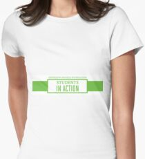Students In Action Women's Fitted T-Shirt