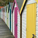 Beach Huts by chocolatesox