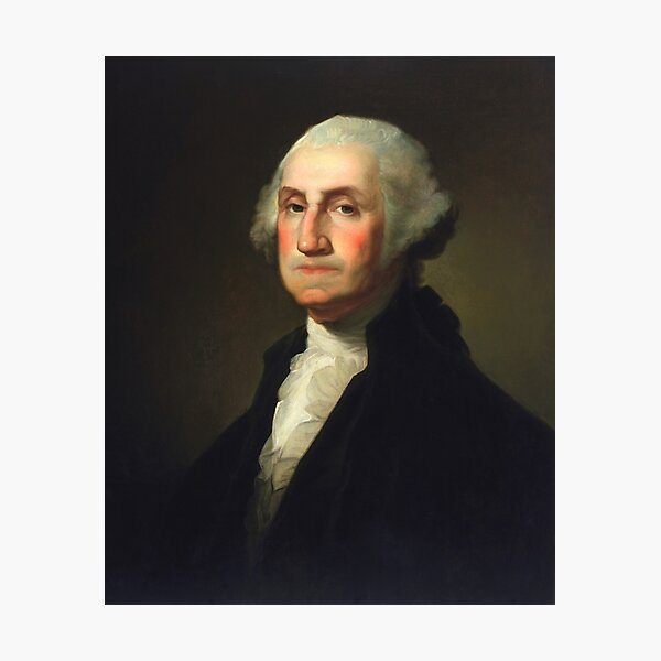 George Washington - Rembrandt Peale Photographic Print