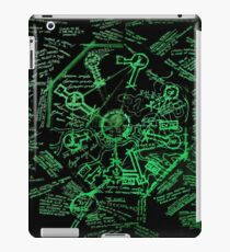 Dharma Stations Blast Door Map (Lost TV show) iPad Case/Skin