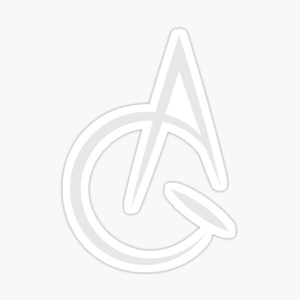 Acquaint Clothing Icon Light Sticker