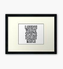 Evan Peters Framed Print