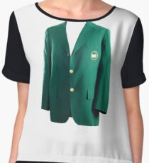The Masters - Green Jacket augusta 2017 (T-Shirt, Phone Case & more) Chiffon Top