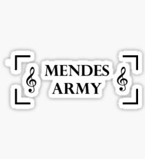 Mendes Army Sticker