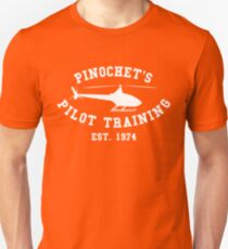 PINOCHET'S PILOT TRAINING WHITE T-Shirt