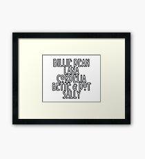Sarah Paulson Framed Print