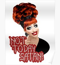 Bianca Del Rio, 'Not Today, Satan!' RuPaul's Drag Race Queen Poster