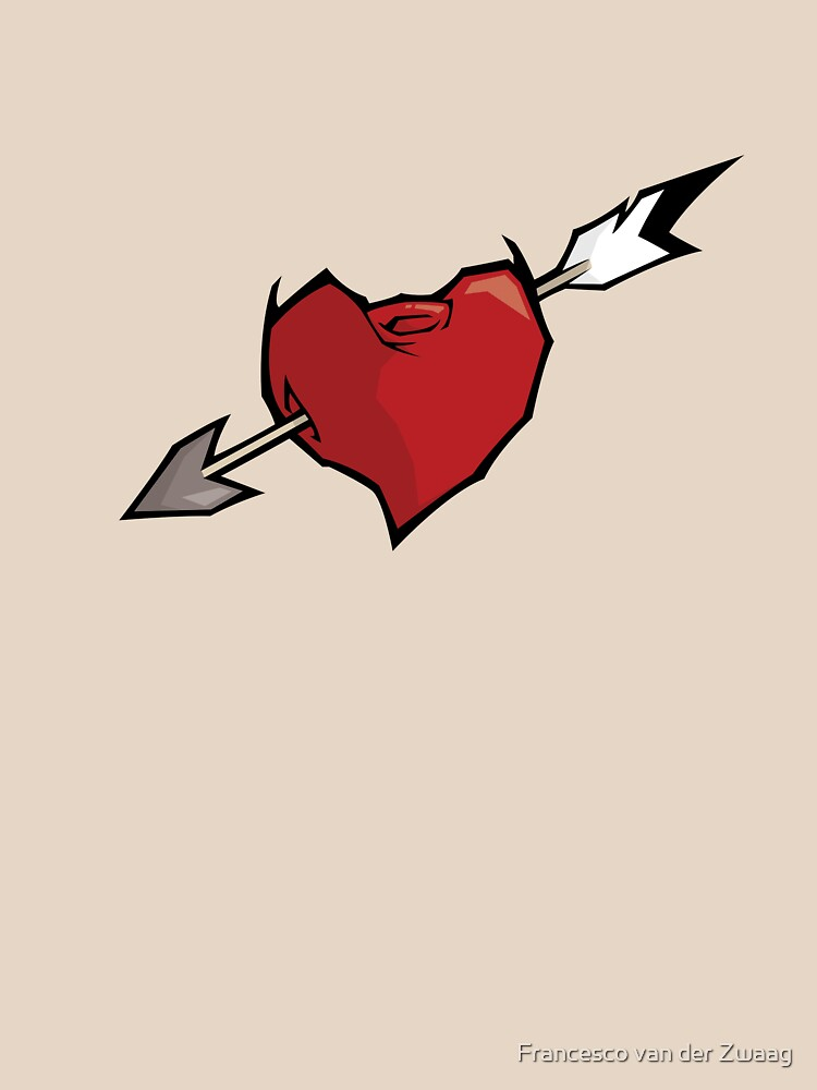Arrow Through A Heart  by fmz101