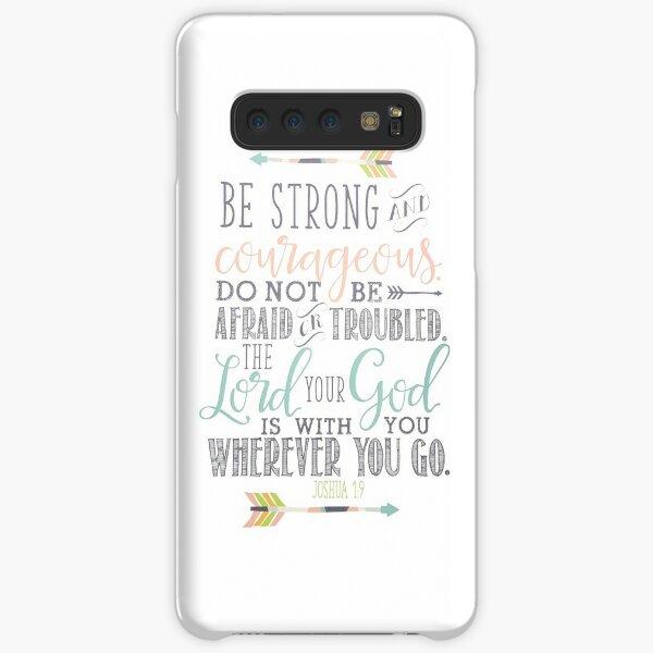 Joshua 1:9 Bible Verse Samsung Galaxy Snap Case