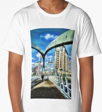 Bridge and blue sky Long T-Shirt