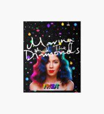 Marina and the Diamonds Froot Art Board