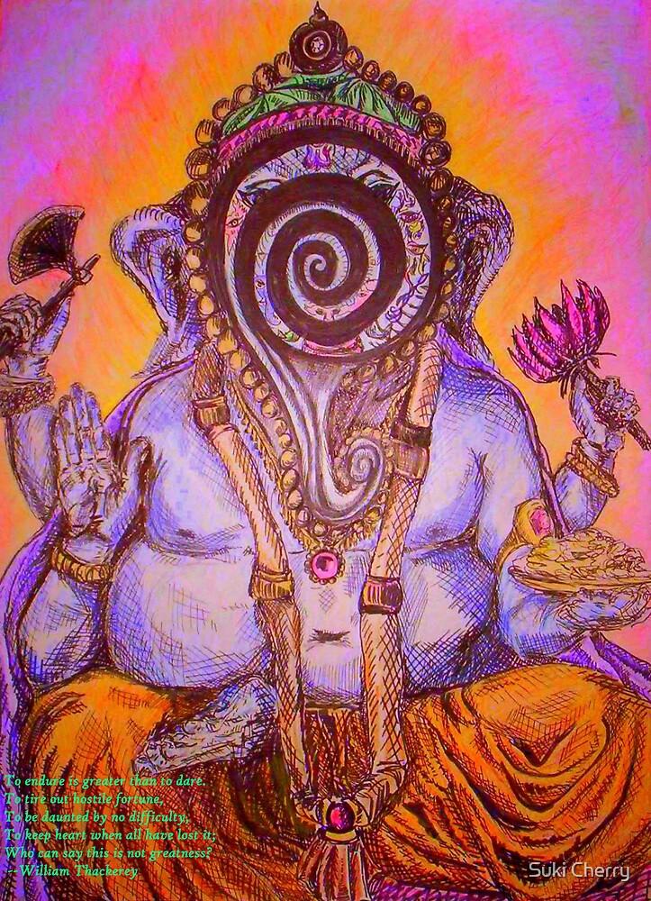 Ganesh by Suki Cherry