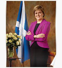 FM Nicola Sturgeon Poster
