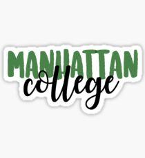 Manhattan College Sticker