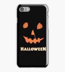 Halloween Jack-o'-Lantern iPhone Case/Skin